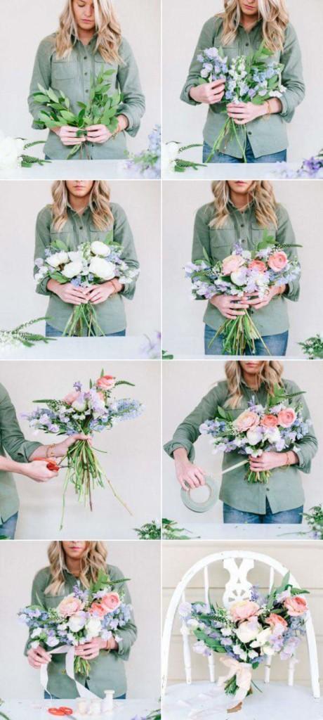 dạy gói hoa cô dâu