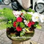 Cách phối màu trong cắm hoa tươi đẹp chuẩn.
