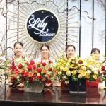 Lớp dạy cắm hoa nghệ thuật, chuyên nghiệp tại Lily Academy