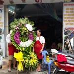 Dạy cắm hoa tang lễ truyền thống và hiện đại